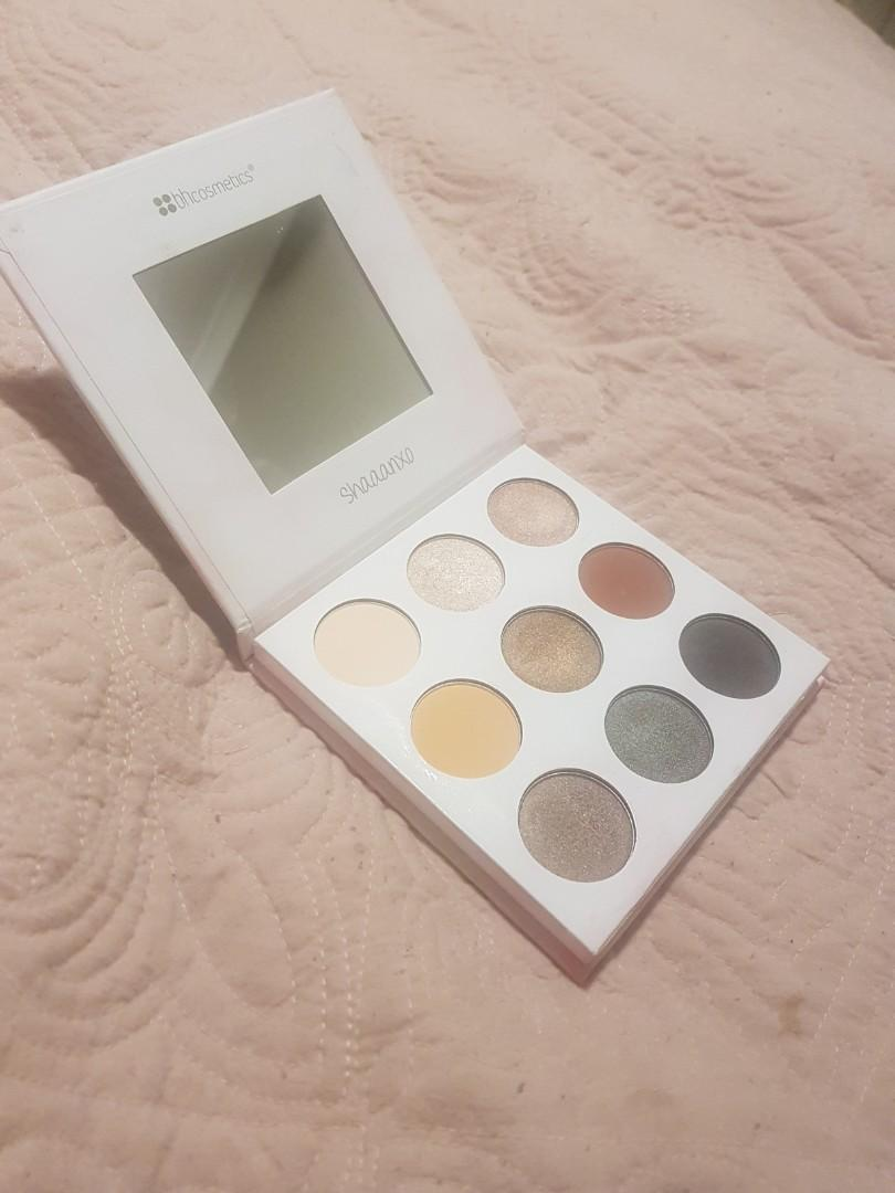 Shaanxo BH Cosmetics Lipstick and Eyeshadow palette