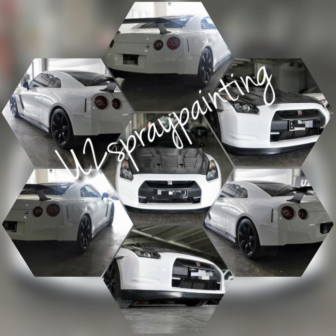 Spray painting service and Dateiling Service