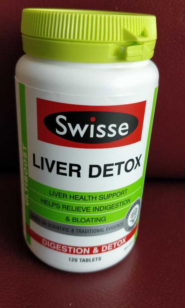 現貨澳洲直送swisse liver detox 120片肝臟排毒片