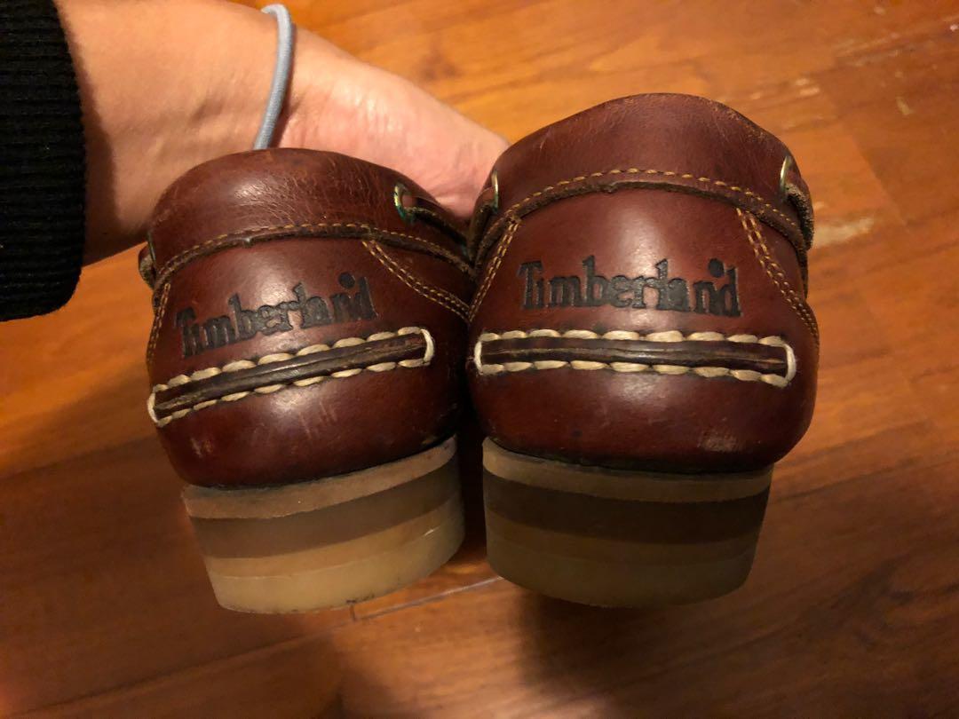 Timberland 女生帆船鞋