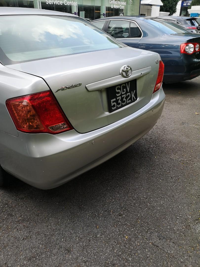 Toyota corolla axio rental