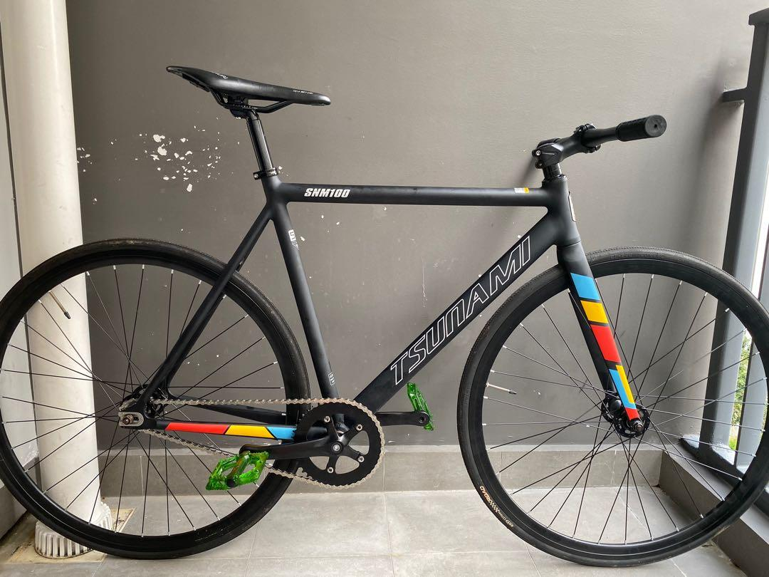 Tsunami Fixie Full Bike Bicycles Pmds Bicycles Fixies On Carousell