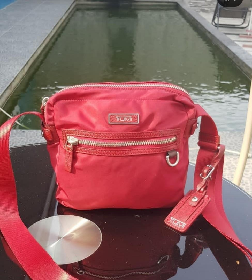 Tumi mini auth red