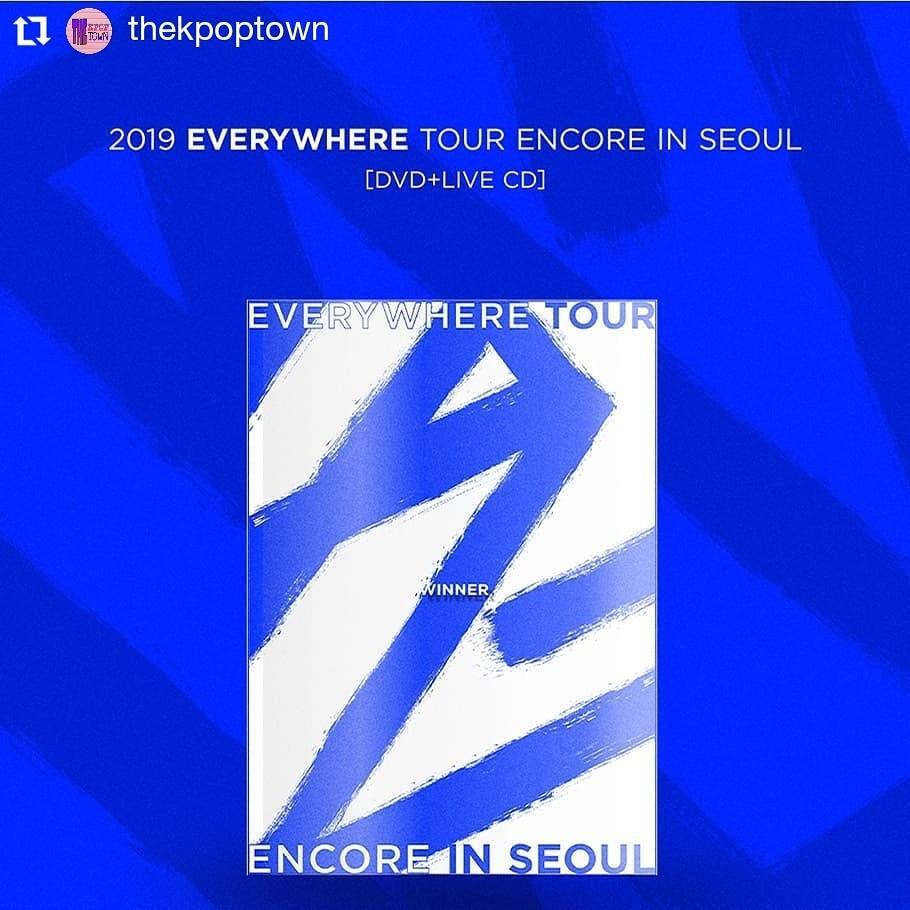WINNER 2019 EVERYWHERE TOUR ENCORE IN SEOUL DVD (2DISC) + Live CD
