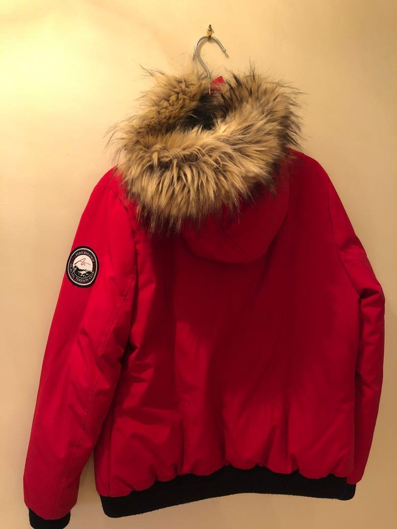 Similar Red Canada Goose Winter Jacket (similar brand)