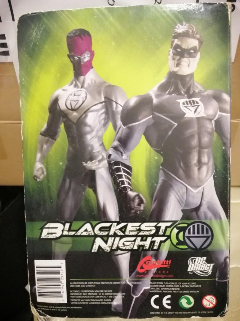 Wondercon SDCC 2010 DC Direct Black Lantern Hal Jordan