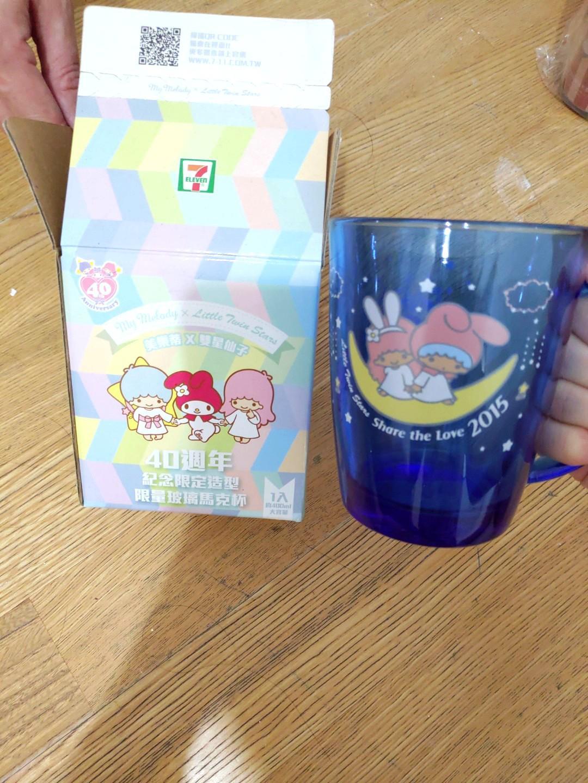 美樂蒂X雙子星玻璃馬克杯