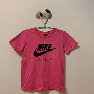 Nike T  桃粉 M  復古 運動