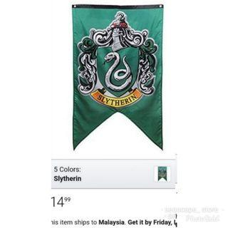 [New] Harry Potter Slytherin Flag/Banner /Tapestry