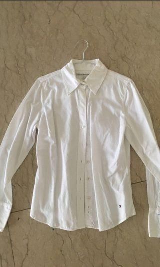 Tommy hilfigher white shirt