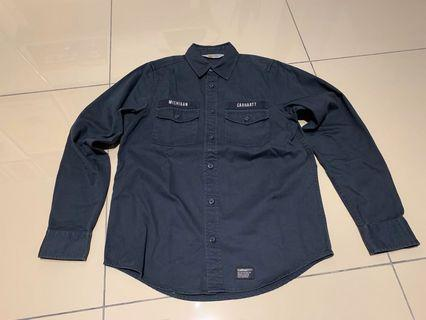 CarharttWIP BDU Shirt Navy