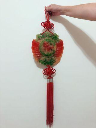 玉中國結掛飾