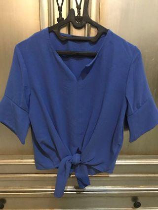 Blue Comfort Top