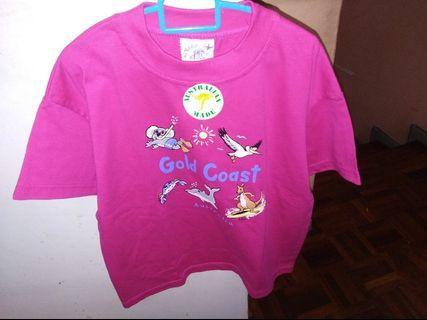 Boy's tee shirt made in Australia