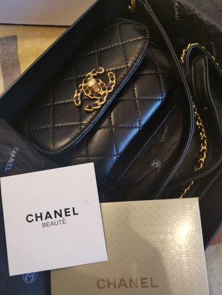Brand new leather fashion belt bag