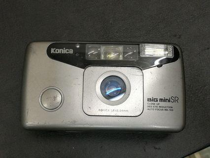 Konica Big Mini SR film camera