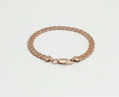 Rise Gold Filled Bracelet Chain, 21 cm B338