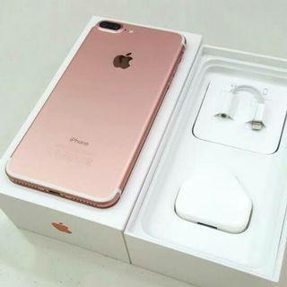 iPhone 7 plus nya Ready Gan sis Cash/Credit Warna Komplit