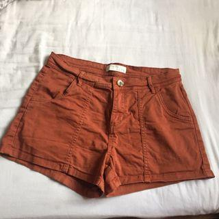 Cotton On Vintage-Brown Shorts