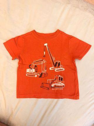 Kaos Baby Orange