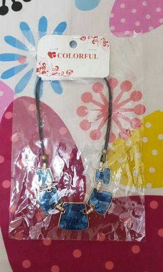 Necklace Blue