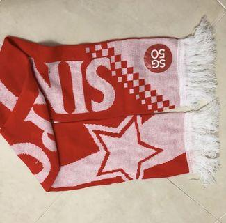 SG 50 national scarf Singapore