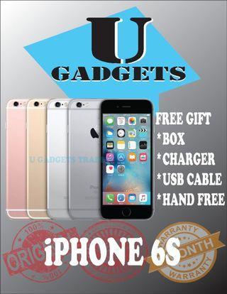 iPhone 6S 32GB Original Apple FullSet 2ndHand