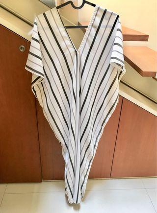 Kaftan Dress Striped