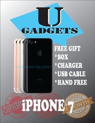 iPhone 7 128GB Original Apple FullSet 2ndHand