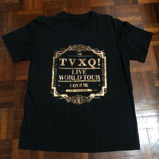 Official TVXQ! Catch Me World Tour T-shirt