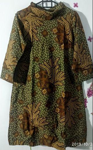 Mididress/tunik batik
