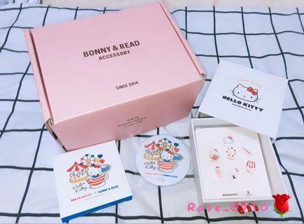 Hello Kitty 樂園耳環組(銀針)