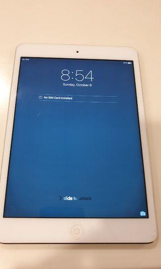 Ipad mini 16GB with 3G