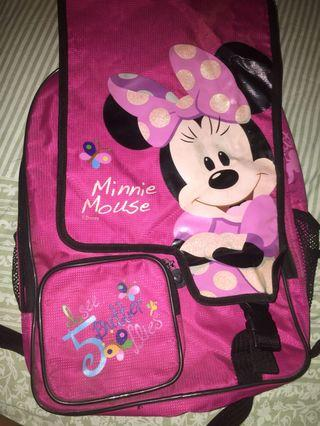 Disney Minnie Mouse Ransel Anak ORI