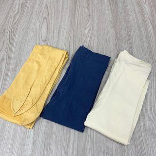 全新日本班尼頓Benetton褲襪三雙合售