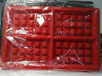 Silicone waffle mould jelly