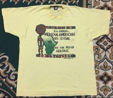 Vintage Africa America Art Festival T-shirt