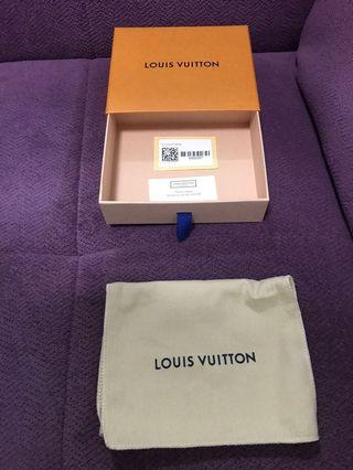 Louis Vuitton Box, Dustbag & paperbag for Zip Coin P. Monogram