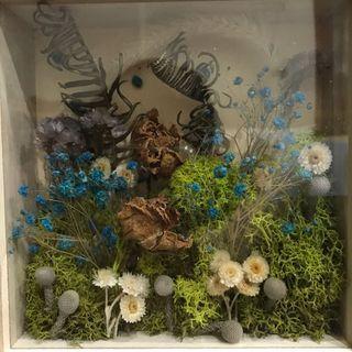 [花好玥圓]乾燥花盒 乾燥花相框 乾燥花 乾燥花禮盒