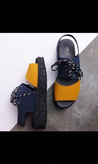 MKS shoes ashley yellow