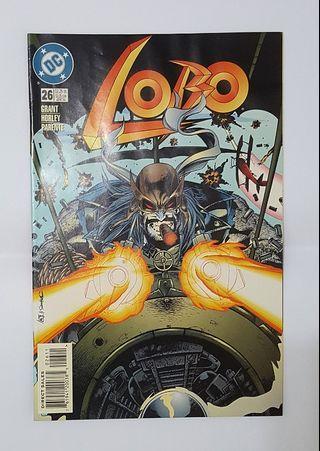 Lobo - Issue 26 DC comics (Nice Cover)