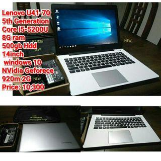 Lenovo U41-70  5th Generation Core i5-5200U   8G ram