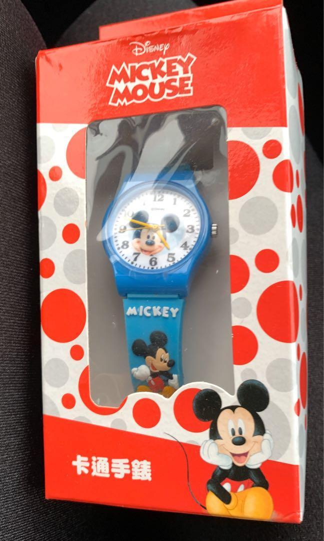 🦐迪士尼米奇矽膠兒童手錶-現貨