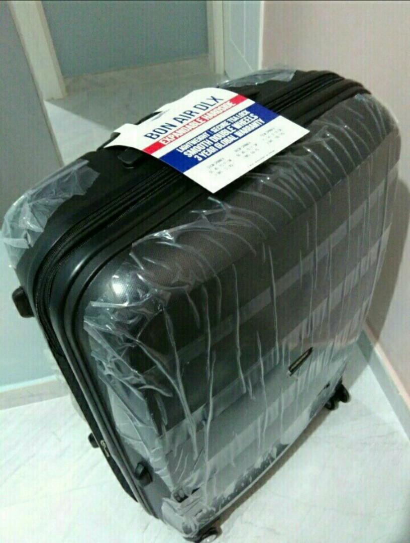全新 28吋 American Tourister Bon Air Deluxe 75cm Black 黑色 行李箱 喼
