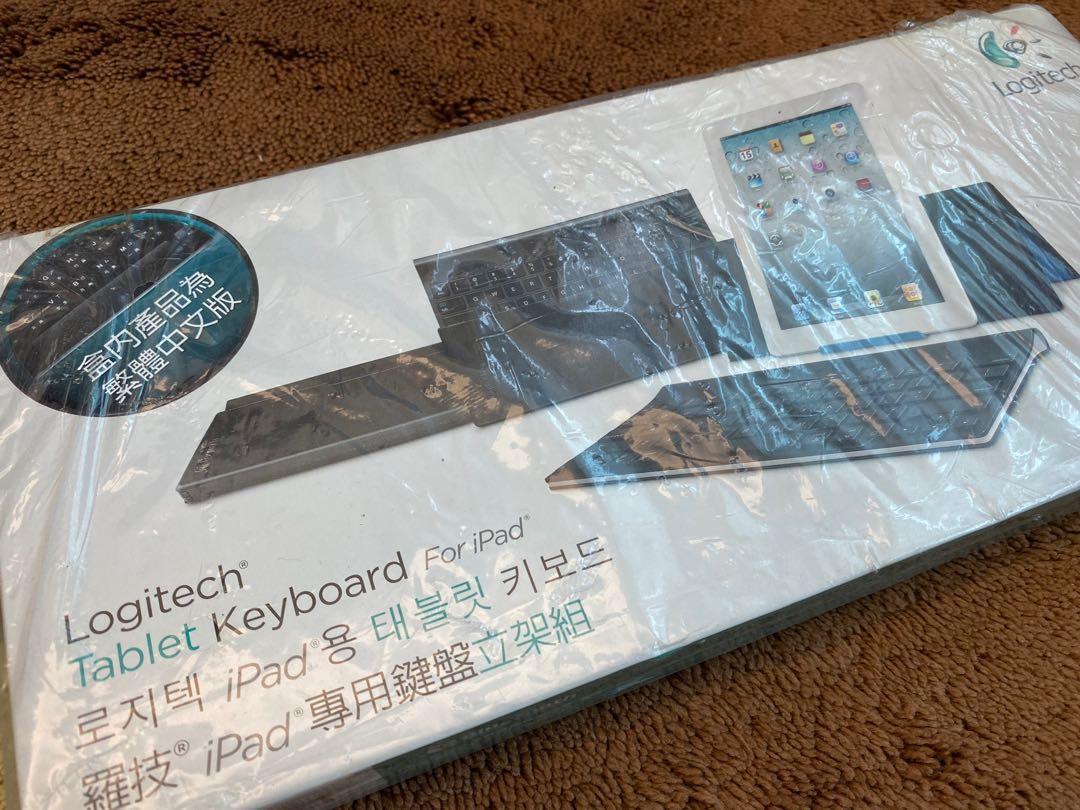 全新 Brand New Logitech Tablet Keyboard for iPad 鍵盤