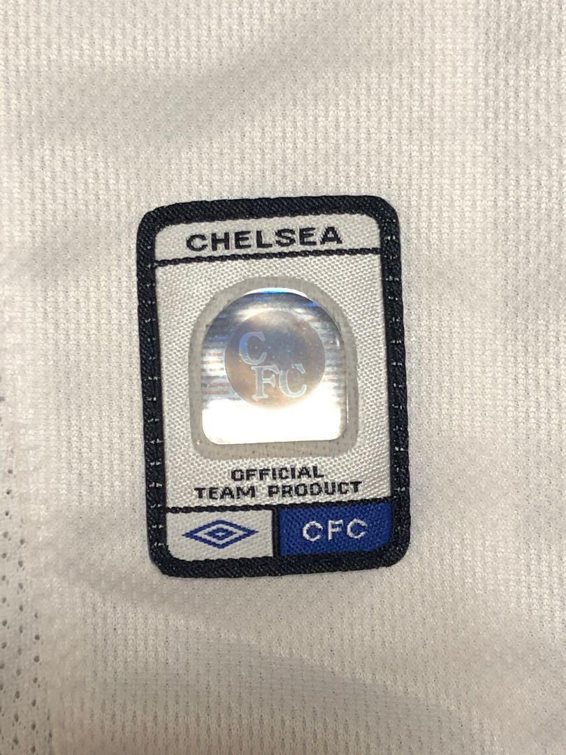 車路士 Chelsea 03-04 Away/04-05 3rd size S (Used)