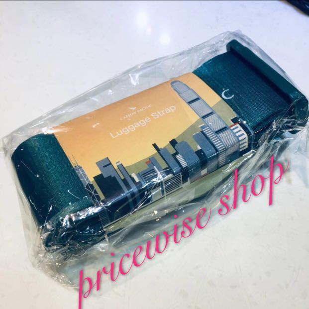 特價購 CX Cathay Pacific 國泰skyline luggage strap 行李帶