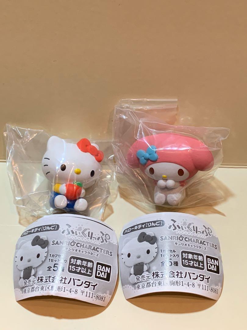 扭蛋 Sanrio characters clip 夾紙公仔  Hello Kitty My Melody Little Twin stars