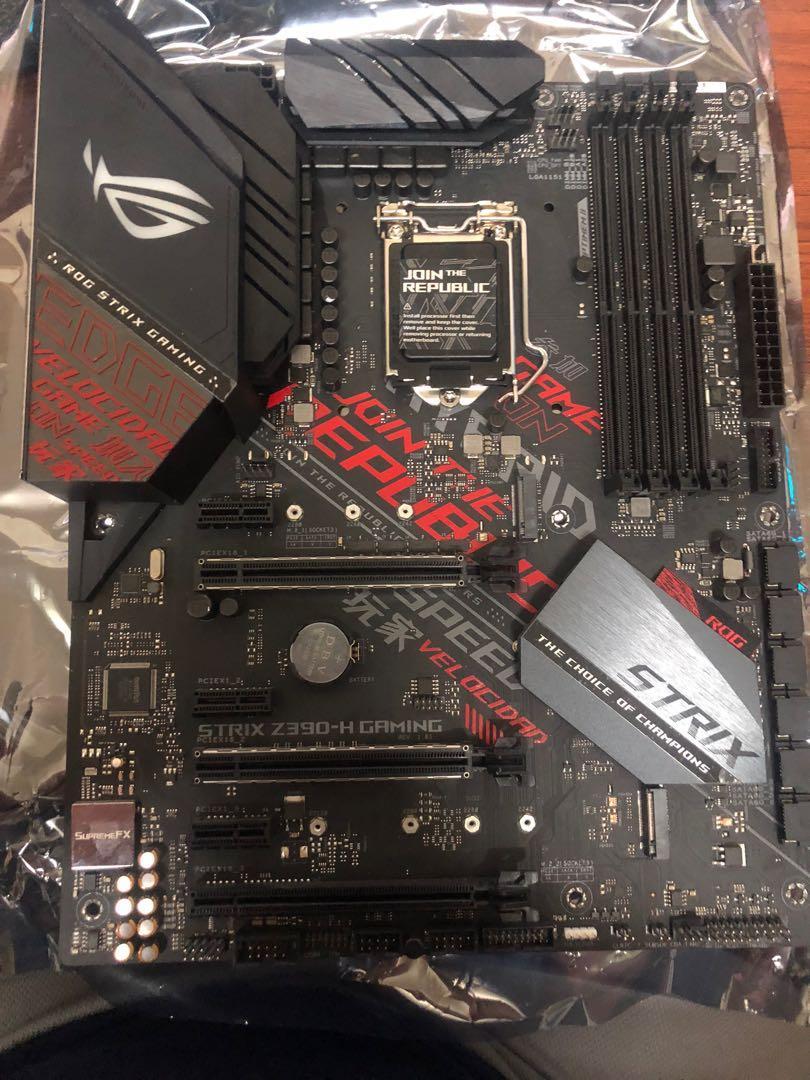 asus  z390 h 電腦底板