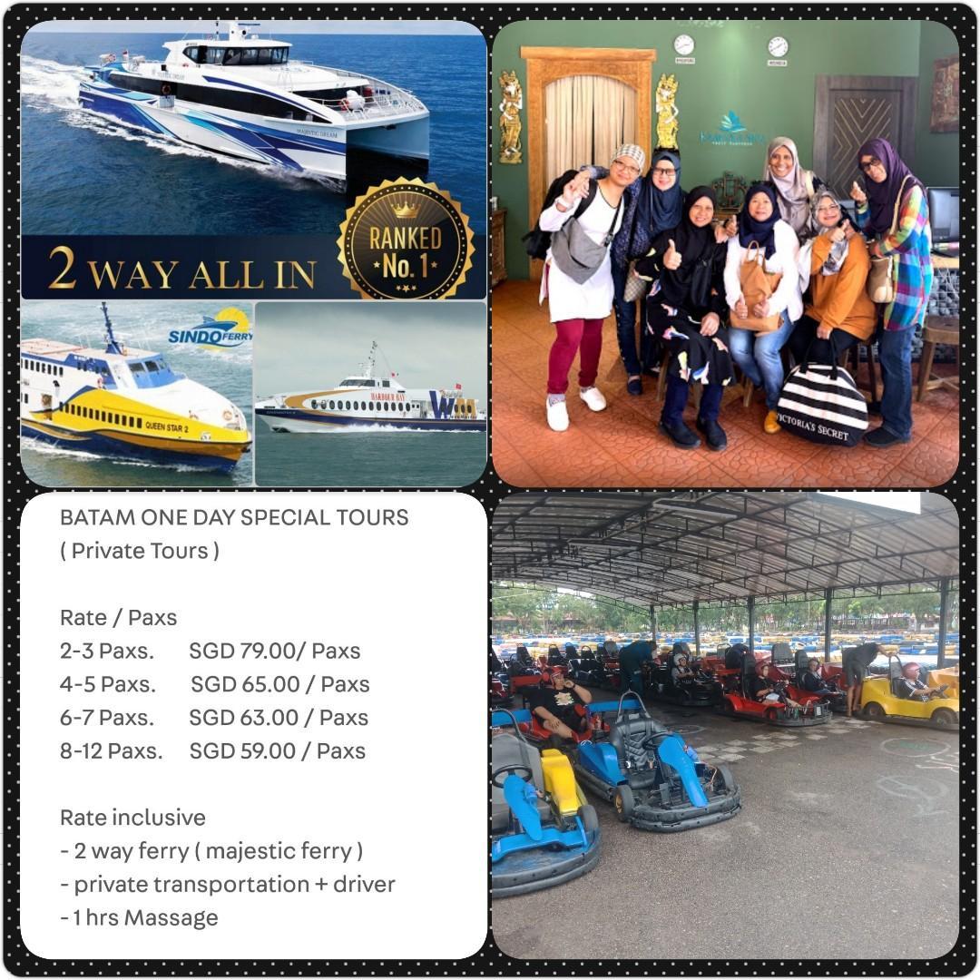 Batam Private Tour One Day / https://wa.me/6281371600616?text=Hallo